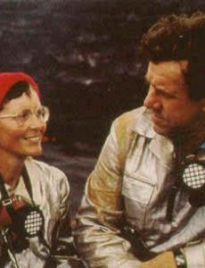 Katia and Maurice Krafft