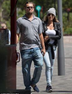 Leonardo DiCaprio and Ela Kawalec