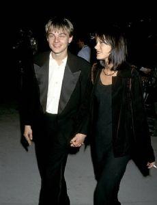 Leonardo DiCaprio and Caitlin Keats