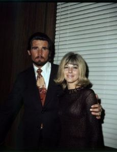 Jane Cameron Agee and James Brolin
