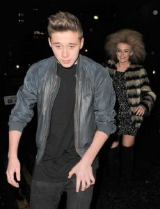 Brooklyn Beckham and Tallia Storm