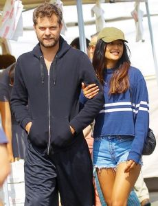 Joshua Jackson and Shafia West