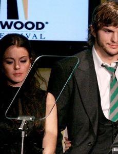 Lindsay Lohan and Ashton Kutcher