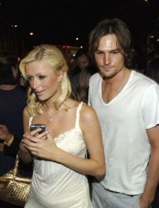 Paris Hilton and Lucas Bain