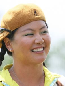 Asian american women golfers