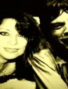 Monique Pardo and Mick Jagger