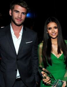 Liam Hemsworth and Nina Dobrev