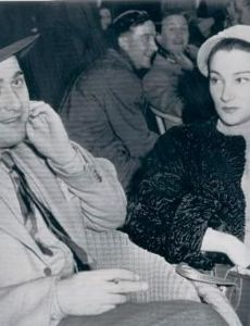 Artie Shaw and Doris Dowling