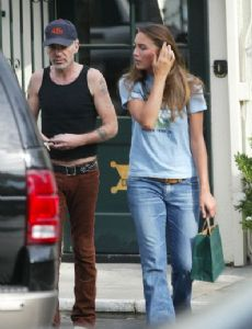 Billy Bob Thornton and Danielle Dotzenrod