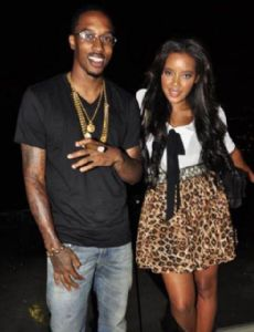 Brandon Jennings und Angela Simmons