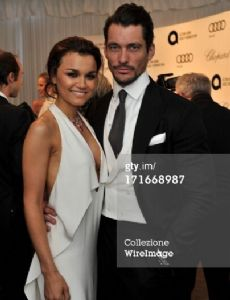 Samantha Barks und David Gandy