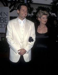 David Duchovny and Dana Wheeler-Nicholson