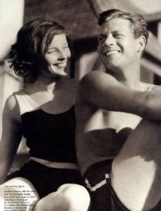 Katharine Hepburn and Joel McCrea