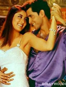 Kareena Kapoor and Hrithik Roshan