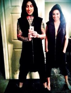 Ronnie Radke and Jenna King