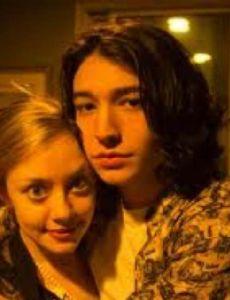 Ezra Miller and Lauren Nolting