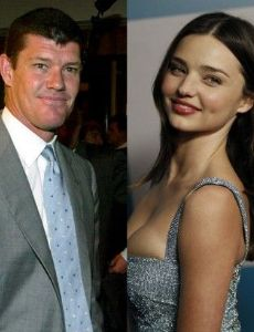 James Packer and Miranda Kerr