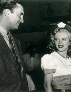 Marilyn Monroe and Howard Hughes