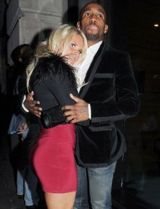 Danielle Armstrong and Jermain Defoe
