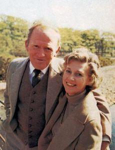 Rona Anderson and Gordon Jackson