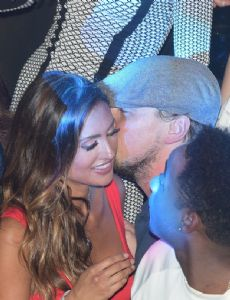 Leonardo DiCaprio and Katie Cleary