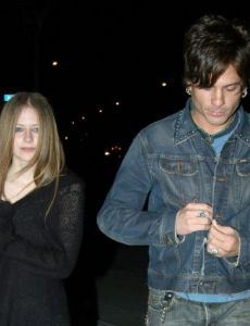 Avril Lavigne and Mitch Allan
