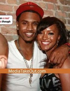 Trey Songz and Drew Sidora