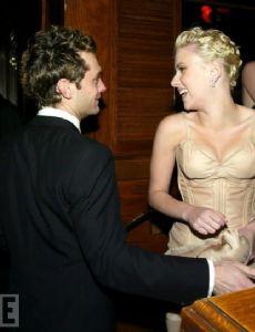 Scarlett Johansson and Jude Law