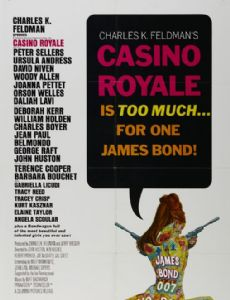 casino royale 1967 trivia