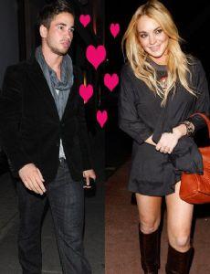 Danny Cipriani and Lindsay Lohan