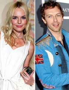 Chris Martin and Kate Bosworth