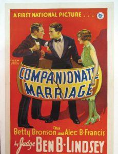 Companionate Marriage