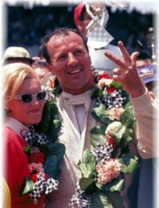 A. J. Foyt and Lucy Zarr