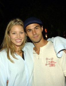 Adam LaVorgna and Jessica Biel