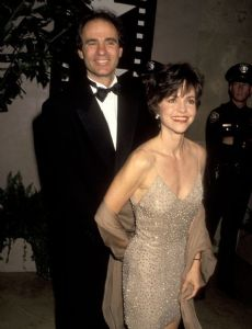 Alan Greisman and Sally Field