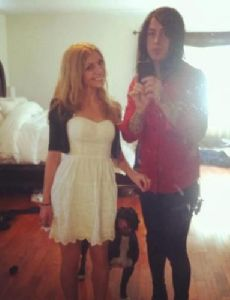 Ronnie Radke and Sally Watts