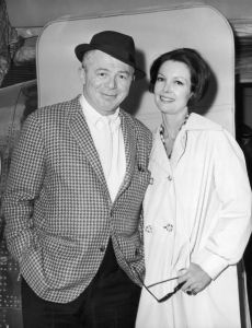 Billy Wilder and Audrey Young