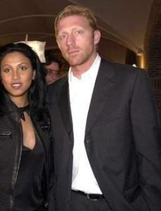 Boris Becker and Sabrina Setlur
