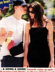 Carla Paneka and Leonardo DiCaprio