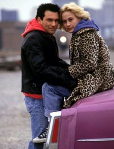 Christian Slater and Patricia Arquette