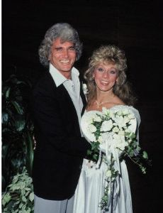 Cindy Clerico and Michael Landon