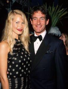 Claudia Schiffer and Tim Jeffries
