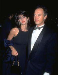 Courteney Cox and Michael Keaton