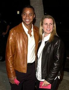 Cuba Gooding, Jr. and Sara Kapfer