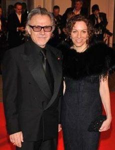 Daphne Kastner and Harvey Keitel