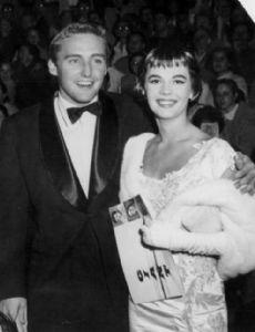 Dennis Hopper and Natalie Wood