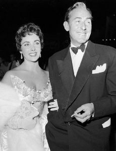 Elizabeth Taylor and Michael Wilding