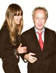 Elle Macpherson and Gilles Bensimson