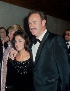 Fay Maltese and Gene Hackman