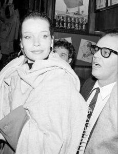 Jack Nicholson and Veruschka von Lehndorff